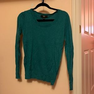 Mossimo teal sweater